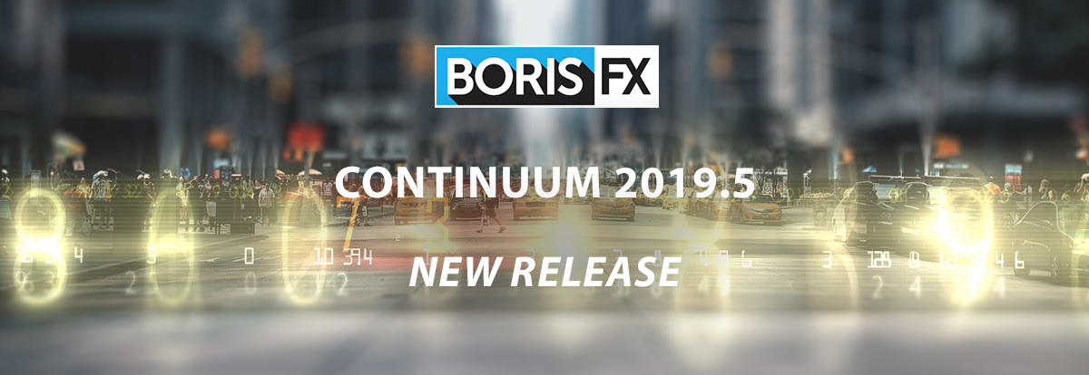 Continuum 2019.5 banner with Particle Illusion look