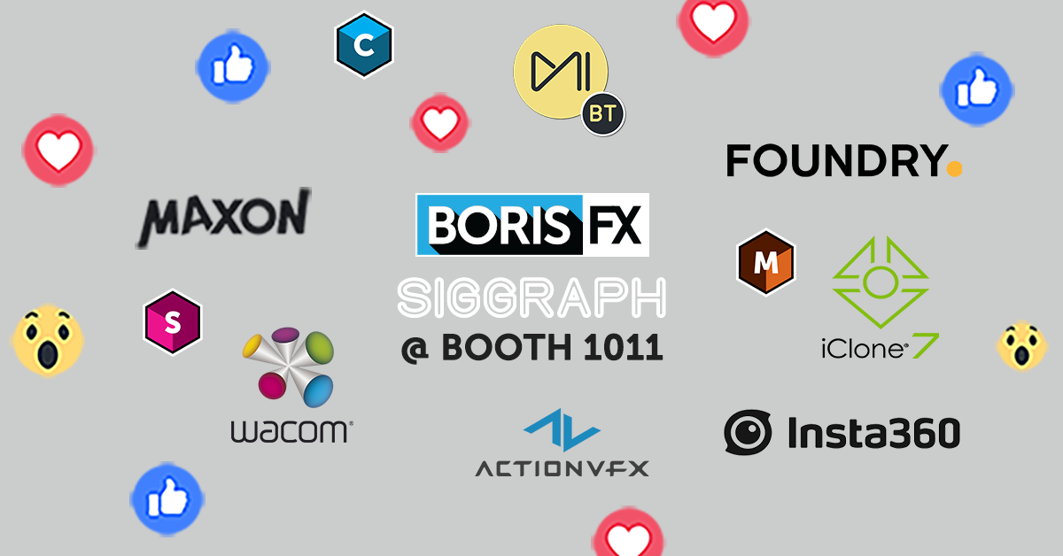 Raffle prize partners at SIGGRAPH 2019