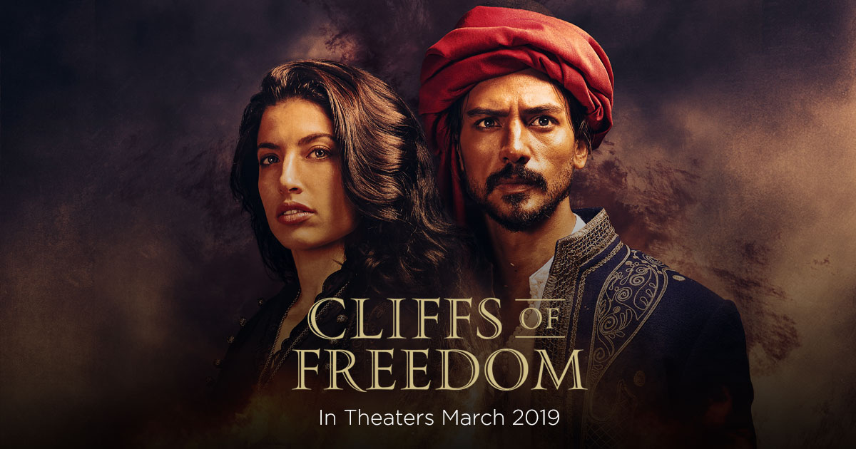 movie poster from Cliffs of Freedom