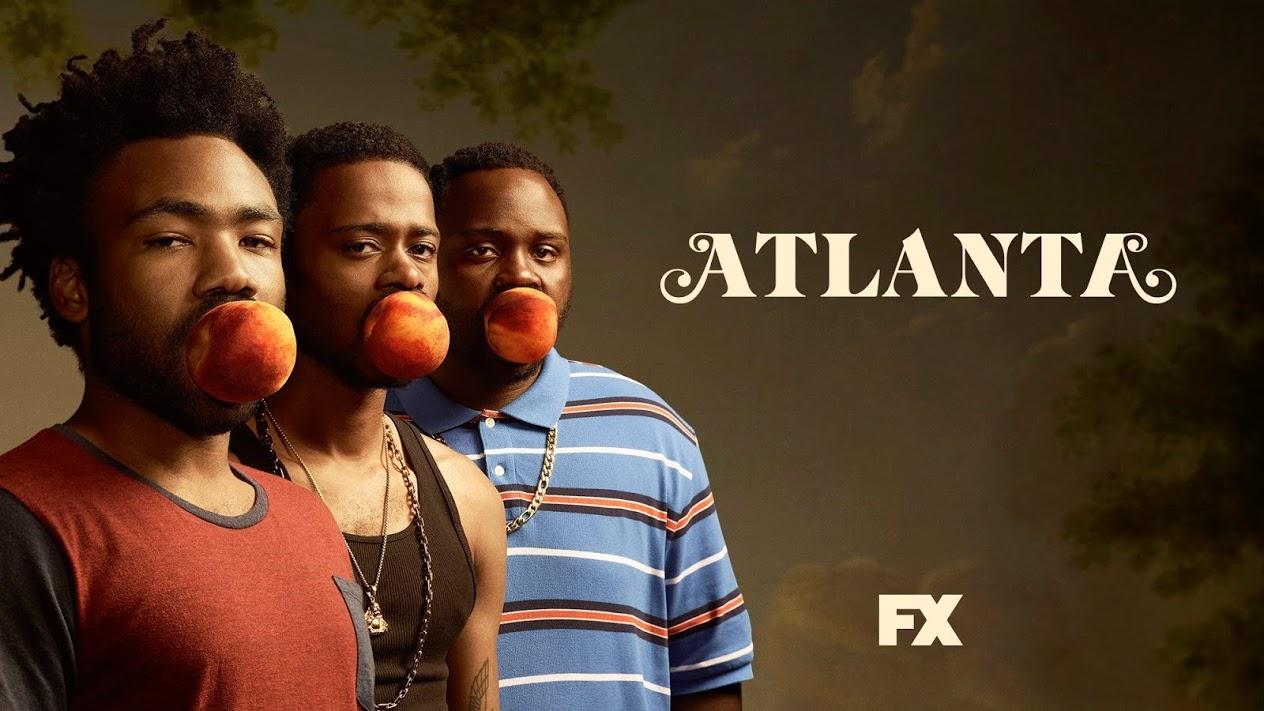 Donald Glover's Atlanta poster