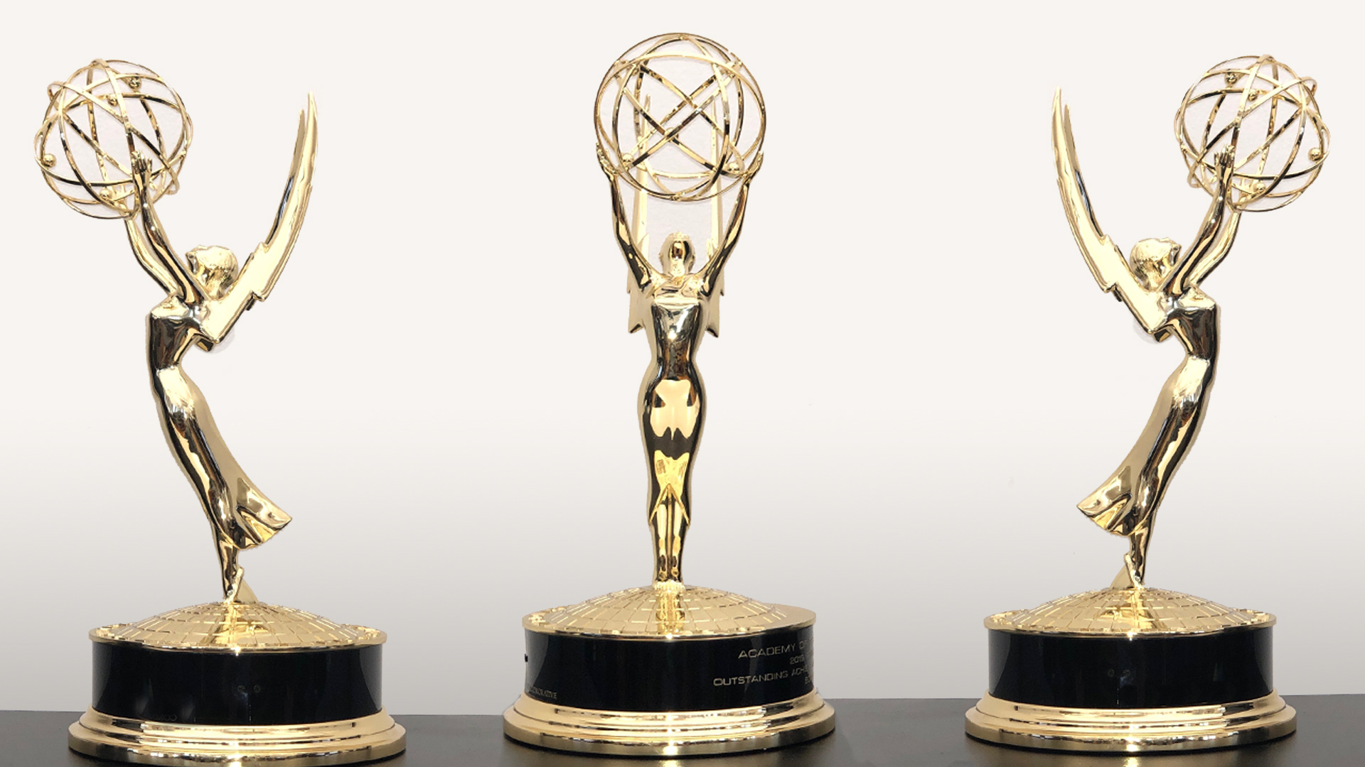 photo of three Boris FX Engineering Emmy Awards