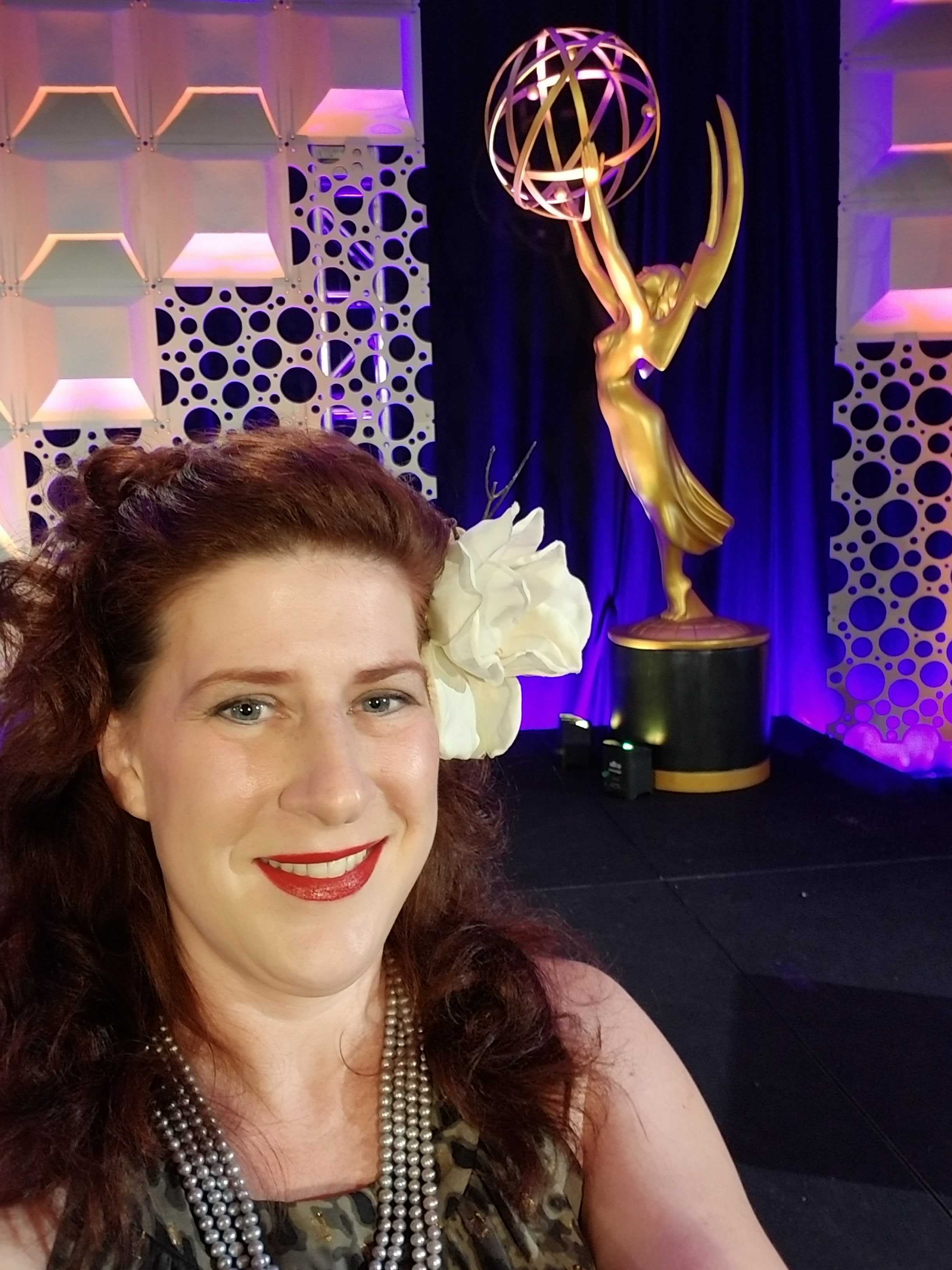 Boris FX's Mary Poplin at the 2019 Engineering Emmys
