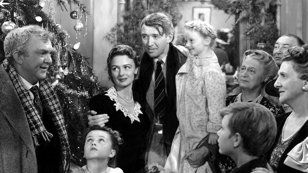 George Bailey and his family