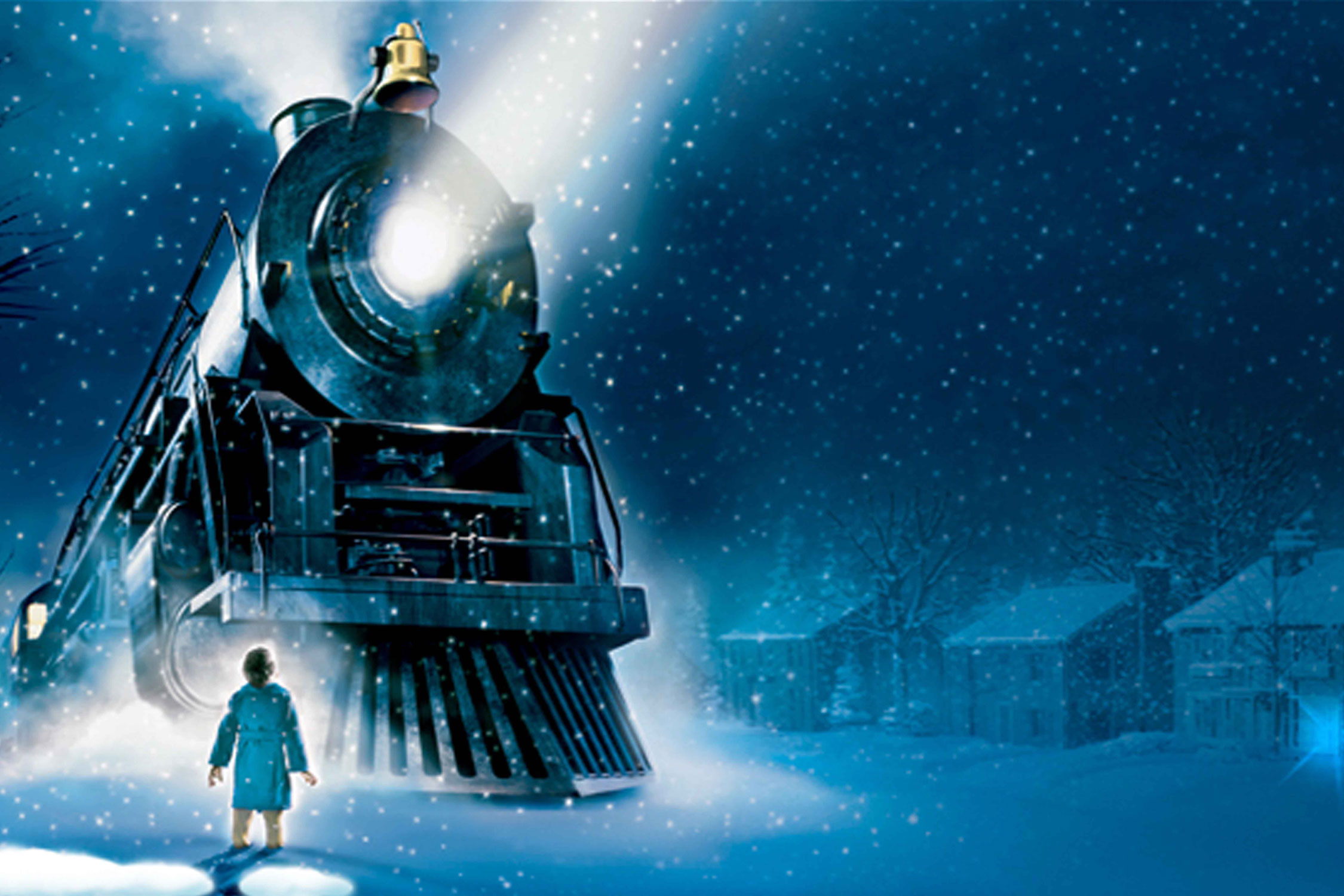 press image from The Polar Express